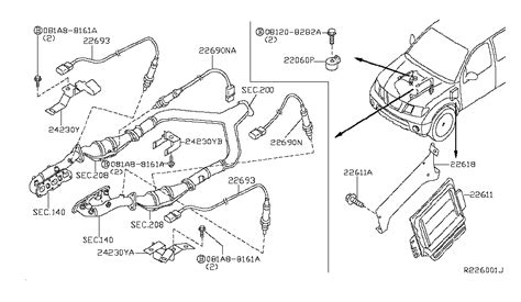 2006 Nissan Pathfinder Engine Diagram by 23710 Ea61c Genuine Nissan 23710ea61c Engine Module