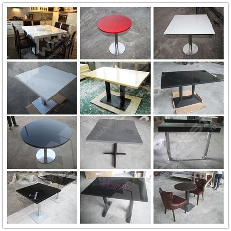 bright colored coffee table bright colored round stain resistance artificial stone