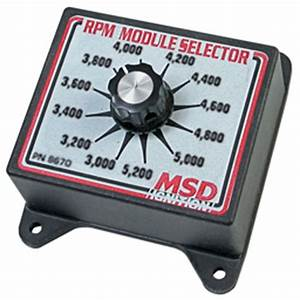 Msd 8670 Selector Switch  3 0k-5 2k