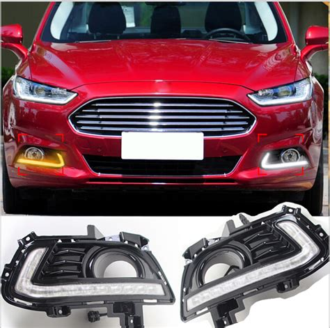 free shipping drl styling for ford mondeo fusion 2013 2016