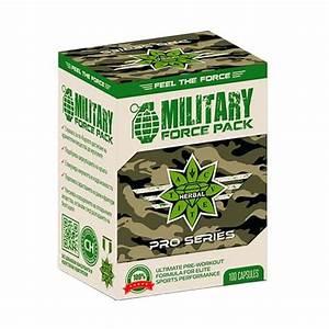 Military Force Pack Cvetita Herbal 100 Capsules