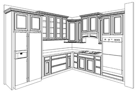 Simple Kitchen Cabinets Layout Design  Greenvirals Style