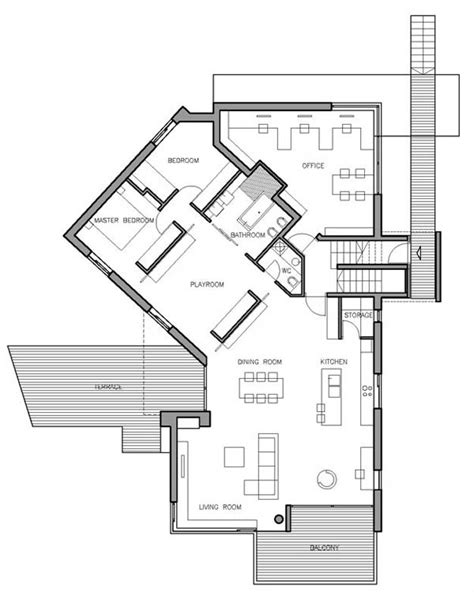 steep slope house plans concrete croatian residence adorning a steep slope