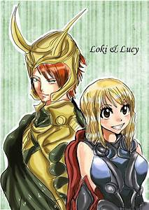 loki..lucy? by MellcatNinA on DeviantArt