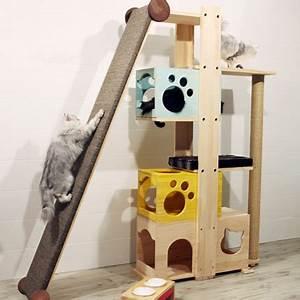 Arbre à Chat Fait Maison : arbre a chat maine coon allemagne ~ Melissatoandfro.com Idées de Décoration