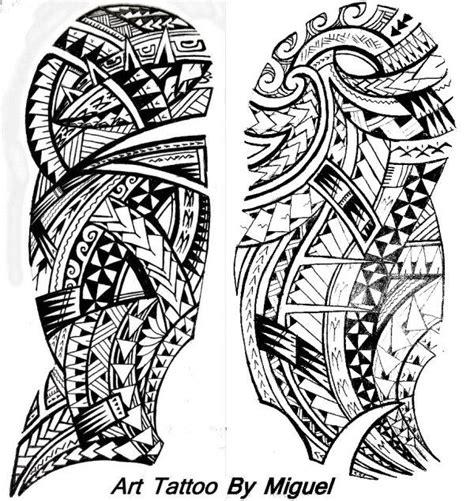 Dessins De Tatouage Maori Pour L'épaule Et Le Bras
