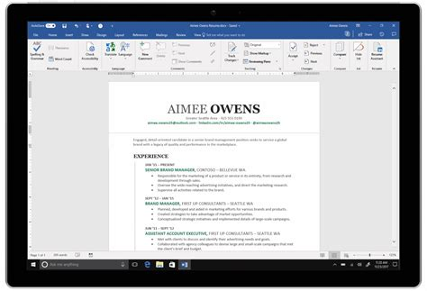 microsoft integrates linkedin  word    write