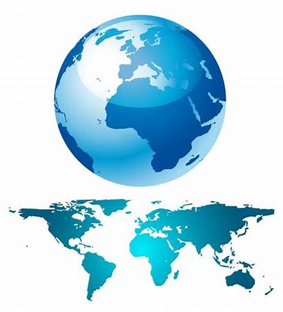 Globe Map Vector Graphics Earth Clipart Web