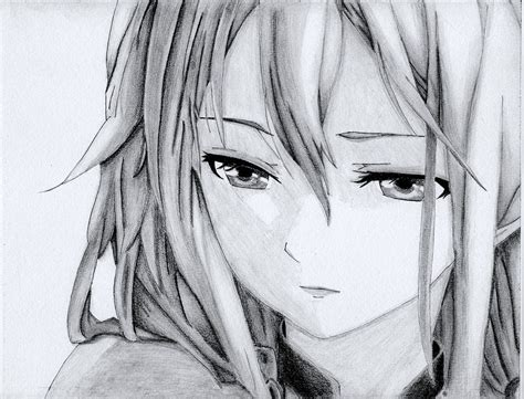Also please note that the irises are shaded grey just to make the highlights in the final drawing a bit easier to see. 20 Beautiful Anime Drawings from top artists around the world