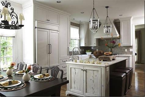 distressed gray kitchen cabinets distressed kitchen island transitional kitchen dana