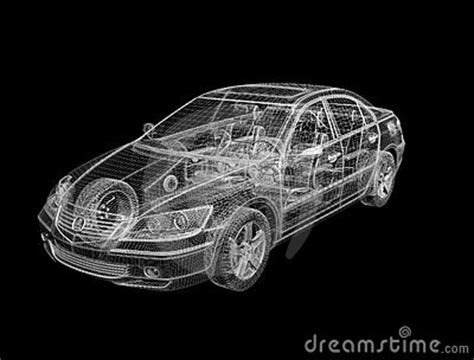 You Wire Modern Cars by 3d Wireframe Design Of Car Stock Photo Image 10592950