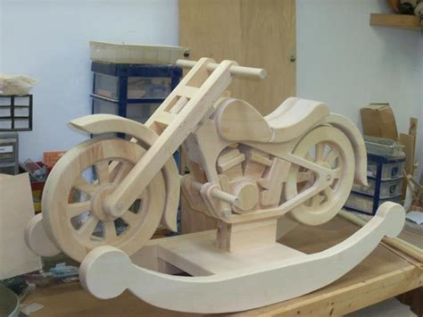 small wood house plan wooden motorcycle rocker plans