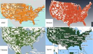 cell phone coverage map comparison maps and coverage