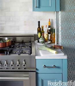 Damask wallpaper contemporary kitchen cameron for Kitchen cabinets lowes with damask decals wall art