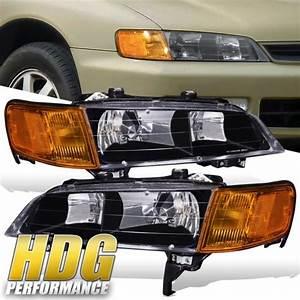 94 95 96 97 Honda Accord Cd5 Jdm Black Housing   Amber