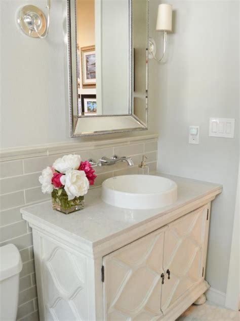 Cost To Remodel A Small Bathroom by Before And After Bathroom Remodels On A Budget Hgtv
