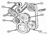 57 Hemi Belt Diagram