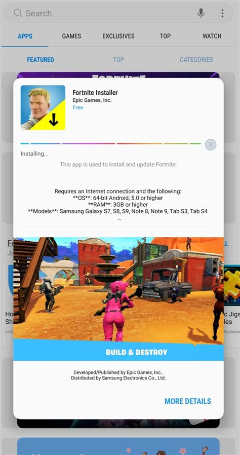 fortnite installer how to get the galaxy skin in fortnite for android