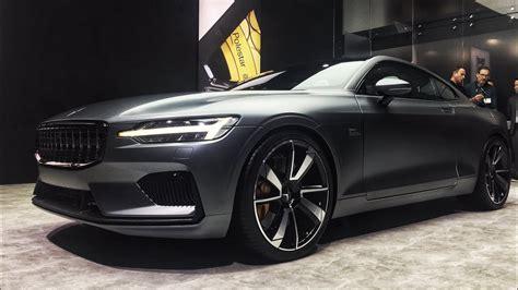 polestar  volvo hybrid coupe walkaround  geneva