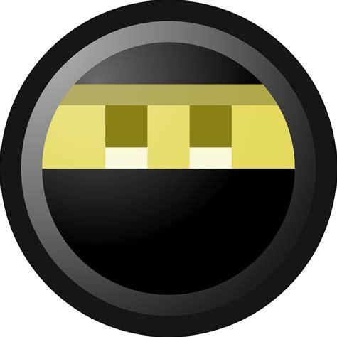 ninja smiley face clip art illustration