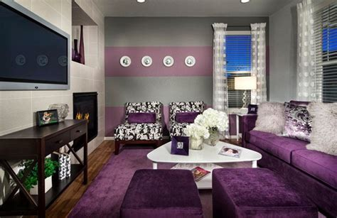 15 Catchy Living Room Designs With Purple Accent Small Room Interior Design Kitchen Online Free Cute Bedrooms For Girls How To Decorate A Home On Budget Grey Walls Living Best Bedroom Ideas What Is Modular Quirky Decor