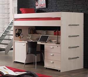 Lit mezzanine une piece supplementaire cosy et intimiste for Tapis chambre enfant avec canapé 2 places inclinable