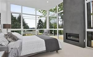 99 idees deco chambre a coucher en couleurs naturelles With les couleurs qui se marient avec le gris