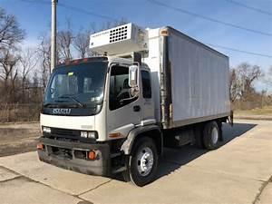 1999 Isuzu Ftr 18 U0026 39  Refrigerated Truck