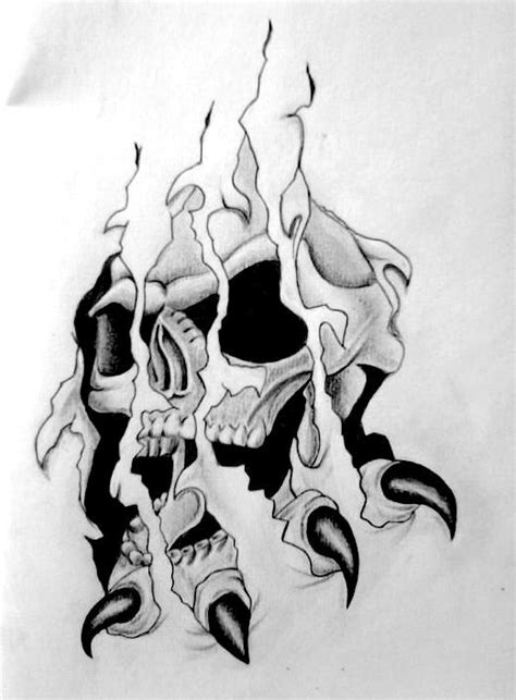 Free Skull Tattoo-Designs | Skull Tattoo Design by tksb1981 | Skull tattoos, Skull tattoo design