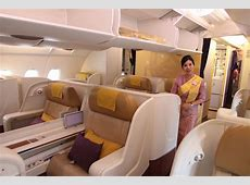Flying a Thai Airways A380 in Royal First Class