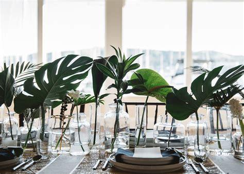 modern tropical wedding ideas green wedding ideas