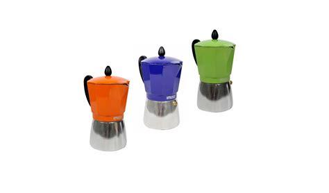 Make lattes and more with a great new espresso machine. Aluminum Coffee Maker 6 Cup iMusa | La Principal