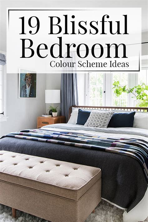 Ideas Colour Schemes by 19 Blissful Bedroom Colour Scheme Ideas The Luxpad