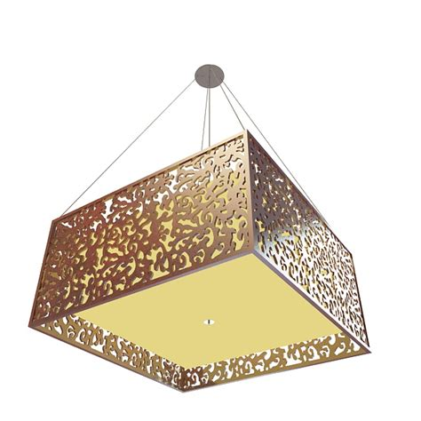 square pendant light fixture 3d model 3ds max files free