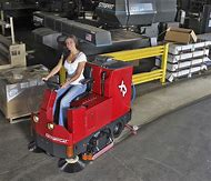 Industrial Floor Scrubber Machines