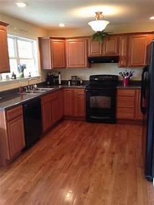 kitchen w black appliances kitchen ideas pinterest With kitchen designs with black appliances