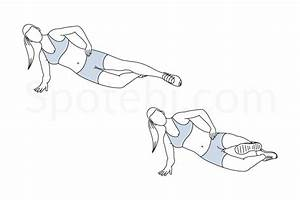 Side Plank Front Kick