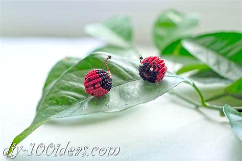 beaded ladybug diy  ideas