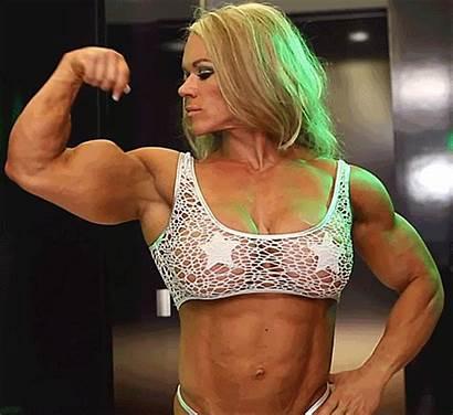 Muscle Aleesha Female Athletic Biceps Bodybuilders Powerful