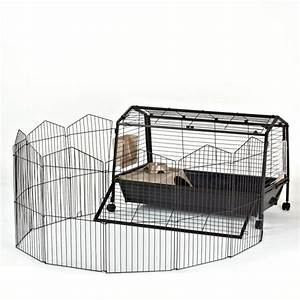 Oxbow play yard small pet habitat cages petsmart for for Petsmart dog cages