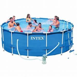 Piscine Tubulaire Intex : une piscine hors sol pour ravir les petits et les grands ~ Nature-et-papiers.com Idées de Décoration