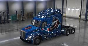 Peterbilt 579 Captain America Mod Mod