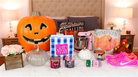 fall haul bath body works tj maxx target home decor
