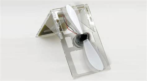 how to make a solar powered fan solar powered desk fan kit inhabitat green design