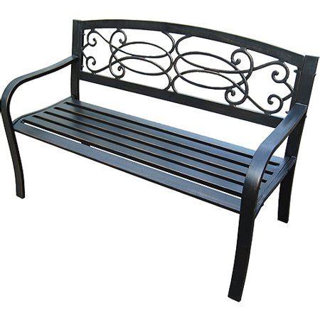 walmart outdoor bench steel garden bench walmart