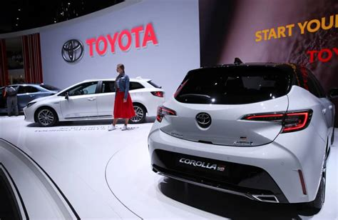 Toyota Joins Rival Carmakers Bmw And Honda In Sounding