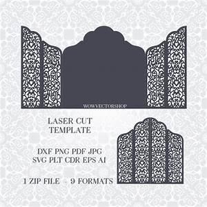 wedding template cut wedding invitation wedding With laser cut wedding invitations download