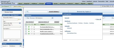 Service Desk Software Microsoft by It Help Desk Software Manageengine Servicedesk Plus