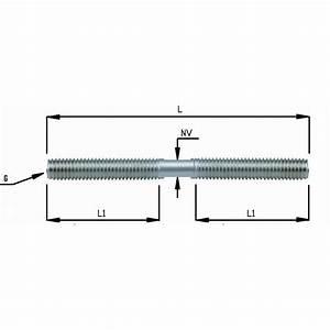 Tige Filetée M10 : tige filet e droite gauche pour ridoir chez inox system ~ Edinachiropracticcenter.com Idées de Décoration