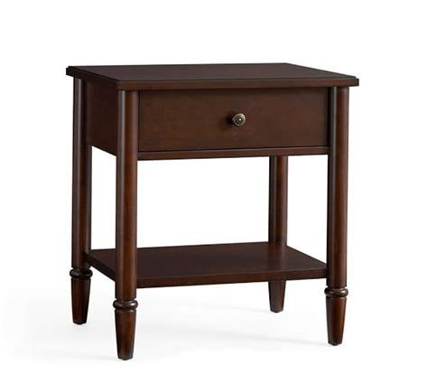 crosby bedside table pottery barn